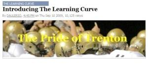 "The Pride of Trenton featured on the first installment of ""The Learning Curve"" on DeadSpin.com"