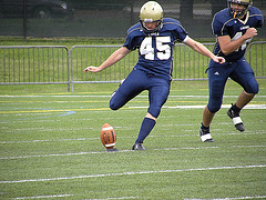 For his contribution on the scorecard and during a brief field-position battle, Lions' kicker Marc Zucconi won his second NJAC award for top special teams performer